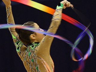 Ribbon in Rhythmic Gymnastics