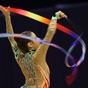 Ribbon in Rhythmic Gymnastics
