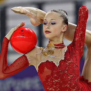 Ball in Rhythmic Gymnastics