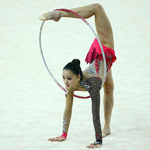 Hoop in Rhythmic Gymnastics
